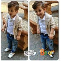 mejor selección de diseño de moda Código promocional Blazer para niño, conjunto elegante   BEBE   Outfits niños ...