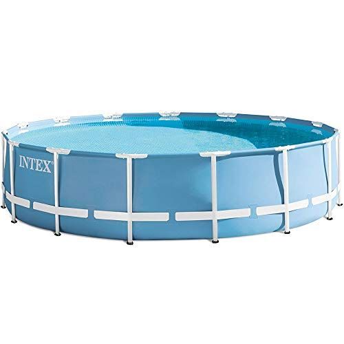 Intex Piscine Tubulaire Intex 366 X 1 22 M Piscine De Jardin