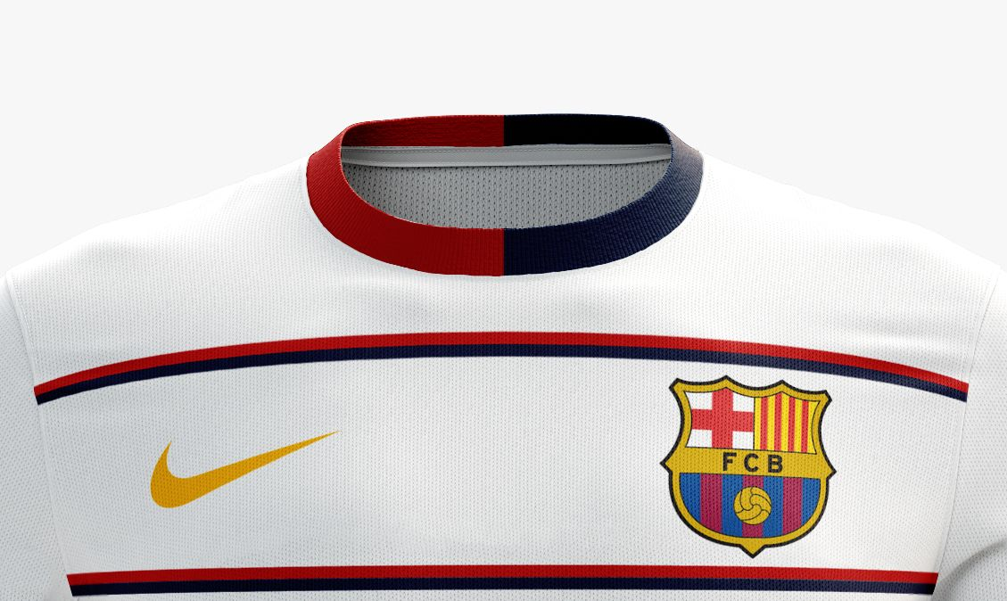 I designed football kits for Fc Barcelona for the upcoming season 16 ... b287d037e16
