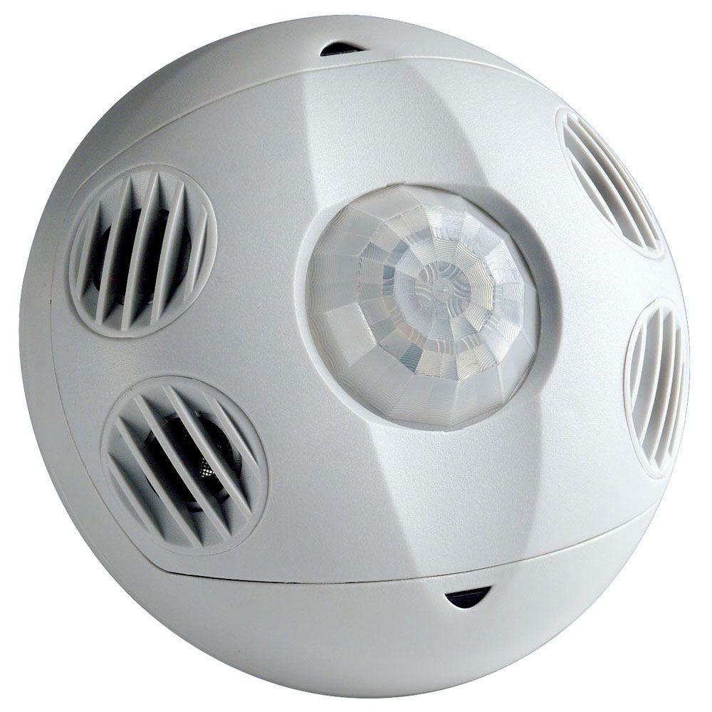 Leviton Ceiling Mount Occupancy Motion Sensor White In 2020 Leviton Motion Sensor Lights Outdoor Light Sensor