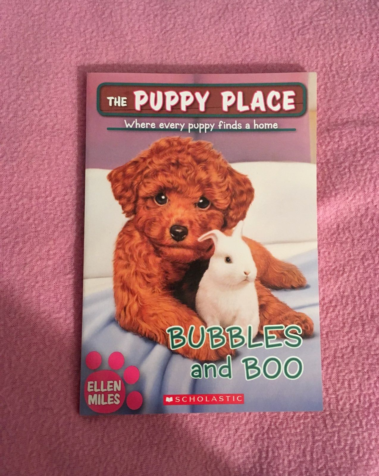 Brand New Paperback The Puppy Place Series Book 44 By Ellen Miles Charles And Lizzie Peterson Love Puppies Their Family Fost Puppy Find Dog Books Puppies
