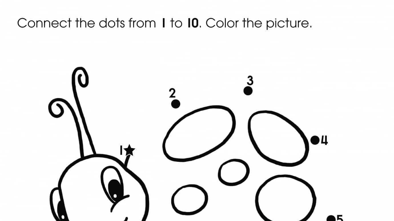 Printable Connect The Dots Worksheets 1 10