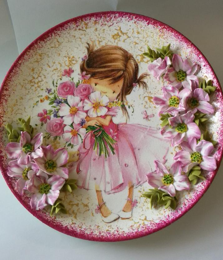 Картинки для обратного декупажа тарелок