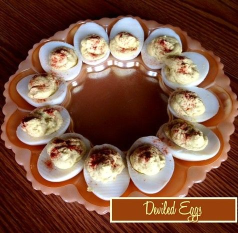 Deviled Eggs http://www.momspantrykitchen.com/deviled-eggs.html