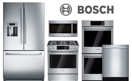 bosch, ranges, dishwashers, refrigerators, cooktops, pacific sales ...