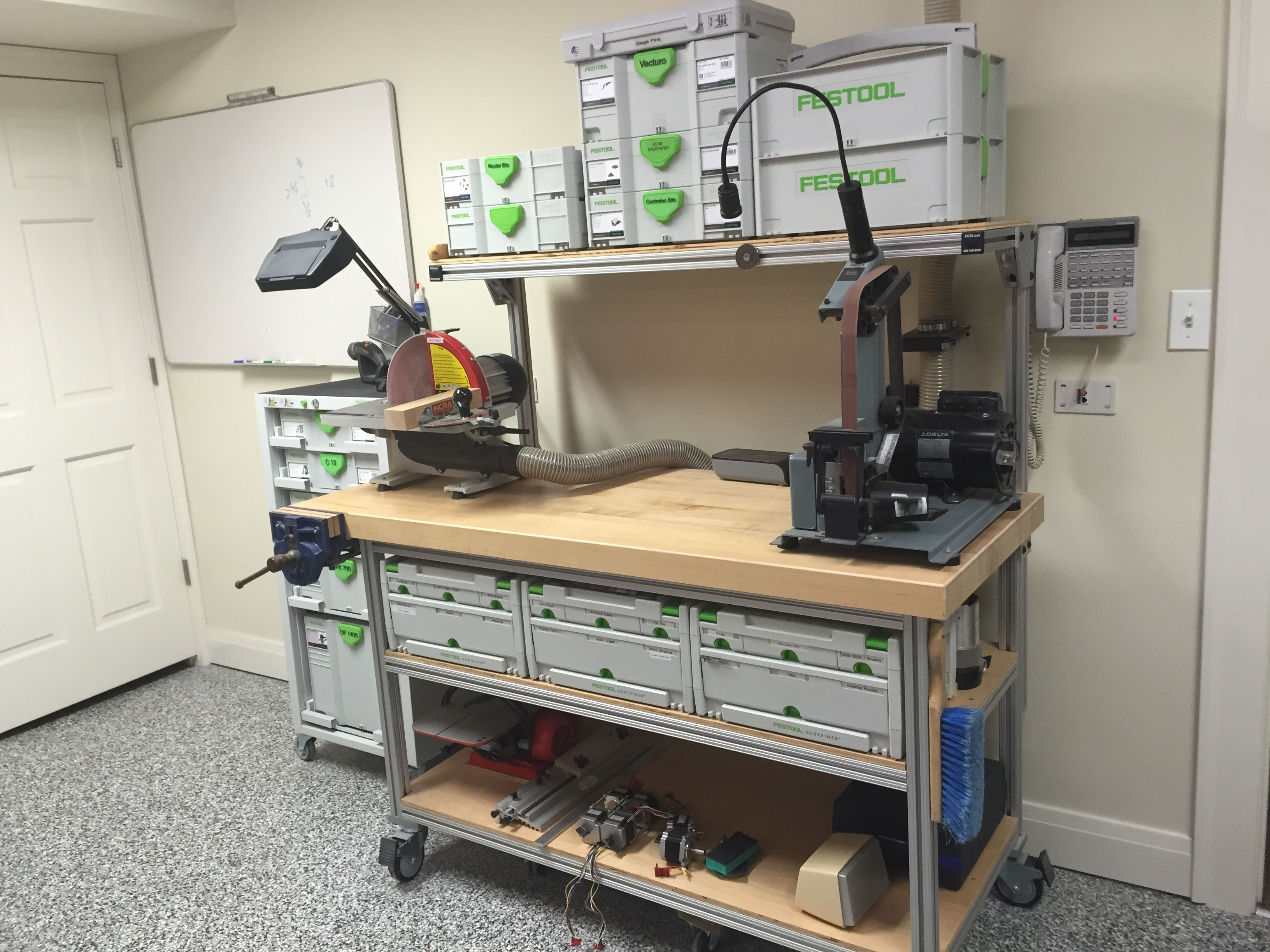 Yet Another 8020 Mftsys Cart Festool Jigs And Tool Enhancements
