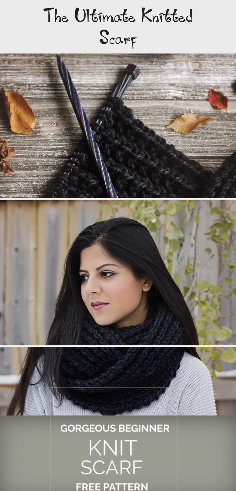 Photo of Der ultimative gestrickte Schal – Leelee Knits #knittingTexture #knittingDishcloth #k …