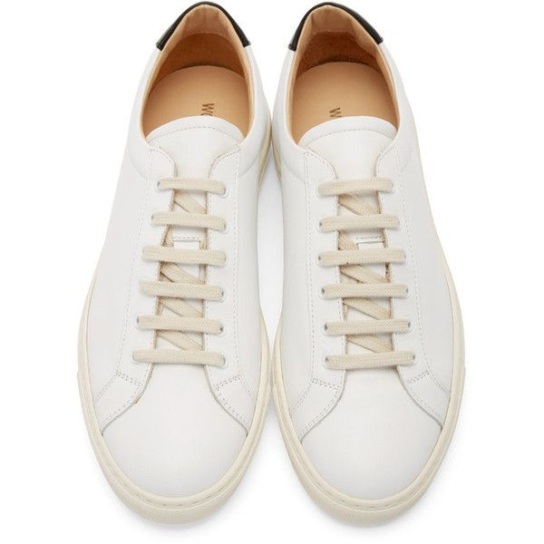 White leather shoes, Sneakers, Lacing