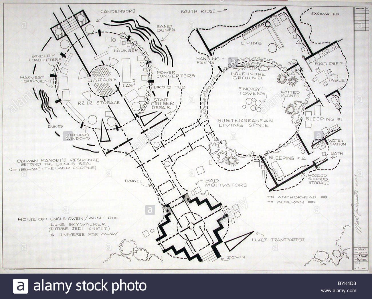 Fantasy Floor plans - Star Wars - Home of Uncle Owen and Aunt Rue ...