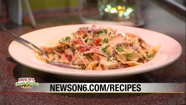 Tony's Bow Tie Pasta - NewsOn6 com - Tulsa, OK - News