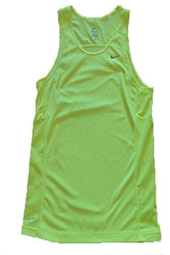 3fef2dd4680a3 NIKE Nike Dri-Fit Men S Miler Running Tank Top (Neon Yellow).  nike  cloth