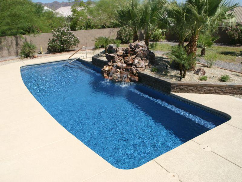 Singleton's Elite Pools & Spas - Fiberglass and Vinyl ... on Elite Pools And Outdoor Living id=29046