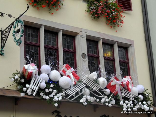Decoration Balcon De Noel.Noel En Alsace Les Facades De Strasbourg Blog Voyage