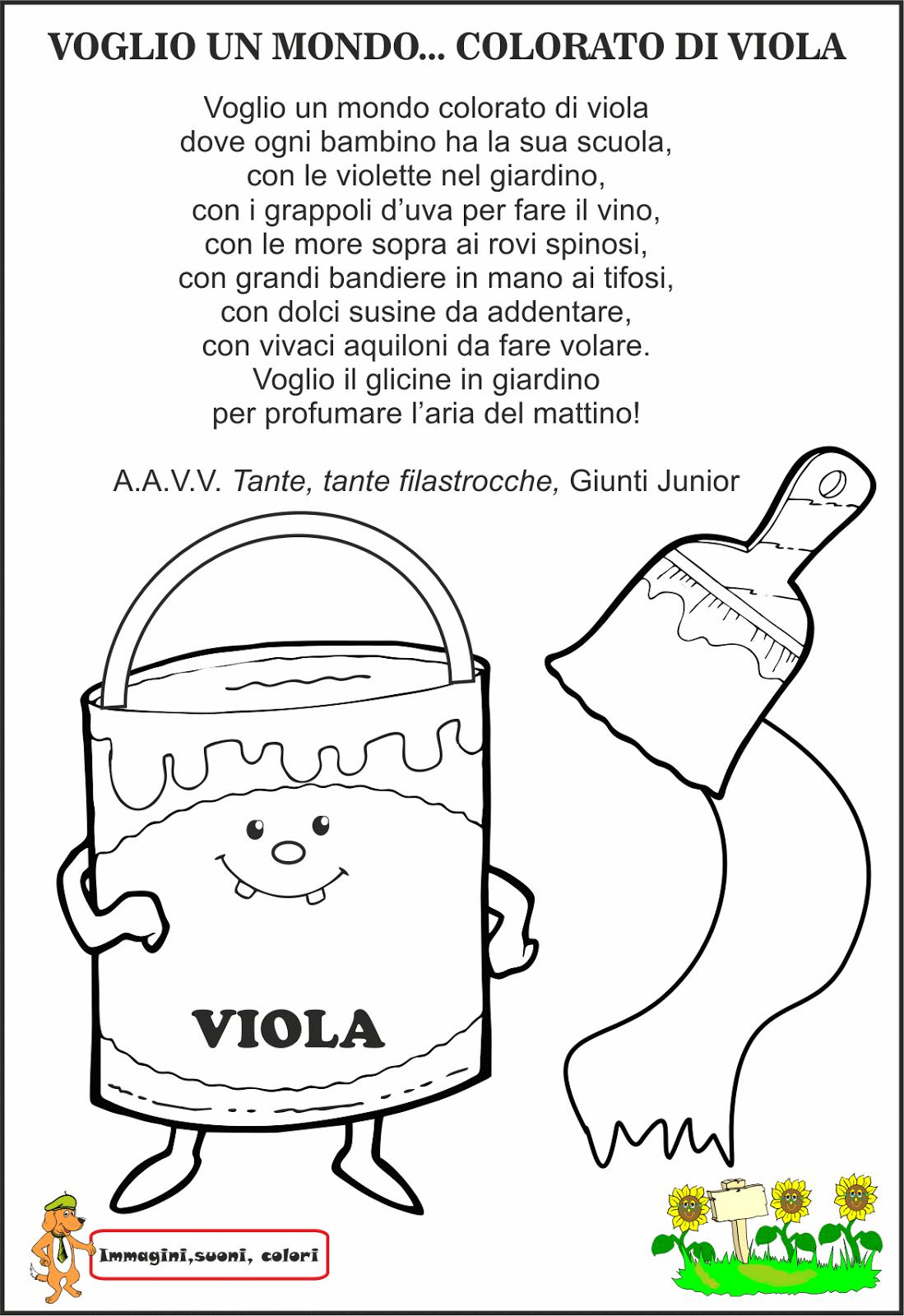 Assez viola+bw.png 1.099×1.600 pixel | colori | Pinterest | Filastrocche  EN92