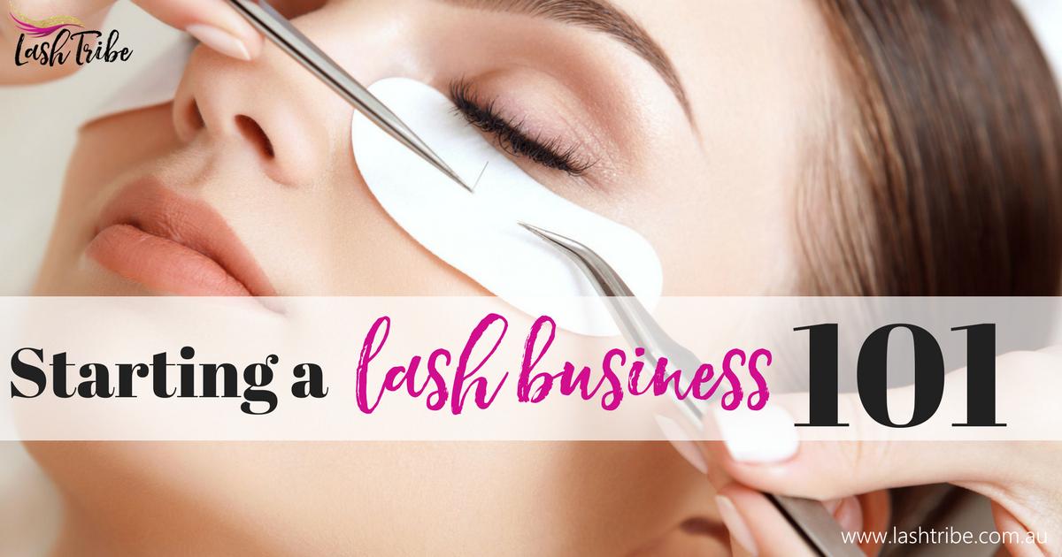 Lash Tribe | 5 Easy Tips to Start your Own Eyelash ...