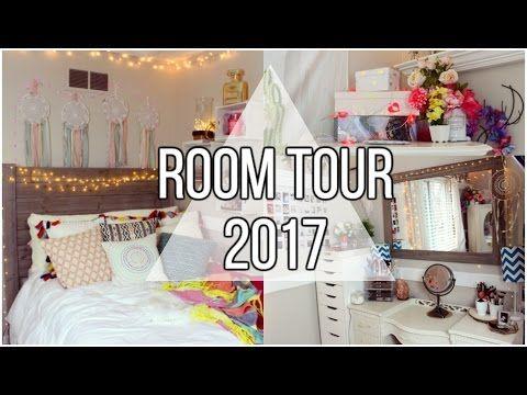 Tumblr Room Tour 2017 Youtuber Brook Reece Videos Youtube Roomtour Room Tour Room Makeover Tumblr Rooms
