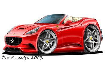 Ferrari California Desenhos De Caminhoes Carros