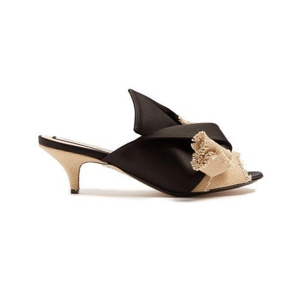 No21 Satin kitten-heel pumps yesZvlPO