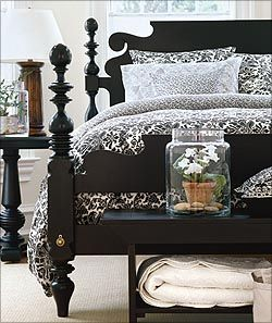 Bedroom Furniture Ethan Allen lights to go out at ethan allen   bedrooms, lights and black white