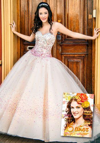Vestidos de 15 años xv estilo princesa rosa para quinceañeras ... 1bbcd6c29e93