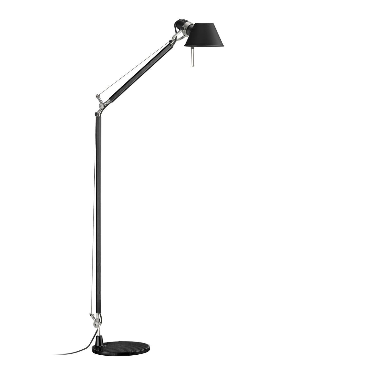 Tolomeo Lettura Floor Lamp By Artemide Floor Lamp Reading Lamp Floor White Floor Lamp
