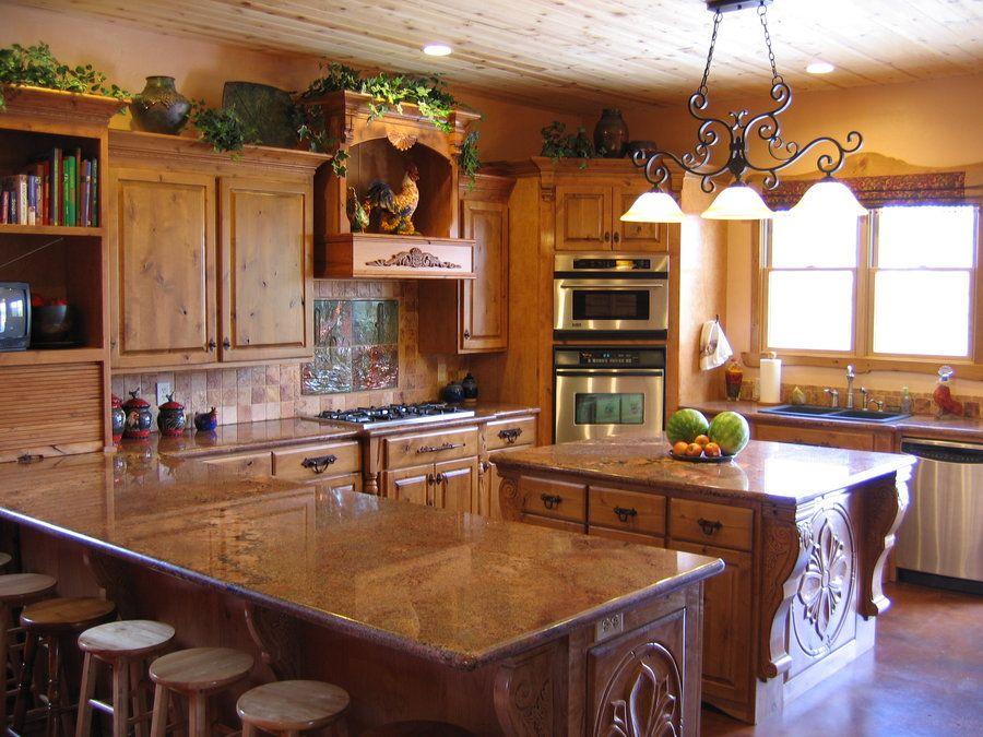 kitchen knotty. alder cabinets   Knotty Alder Kitchen - by ...