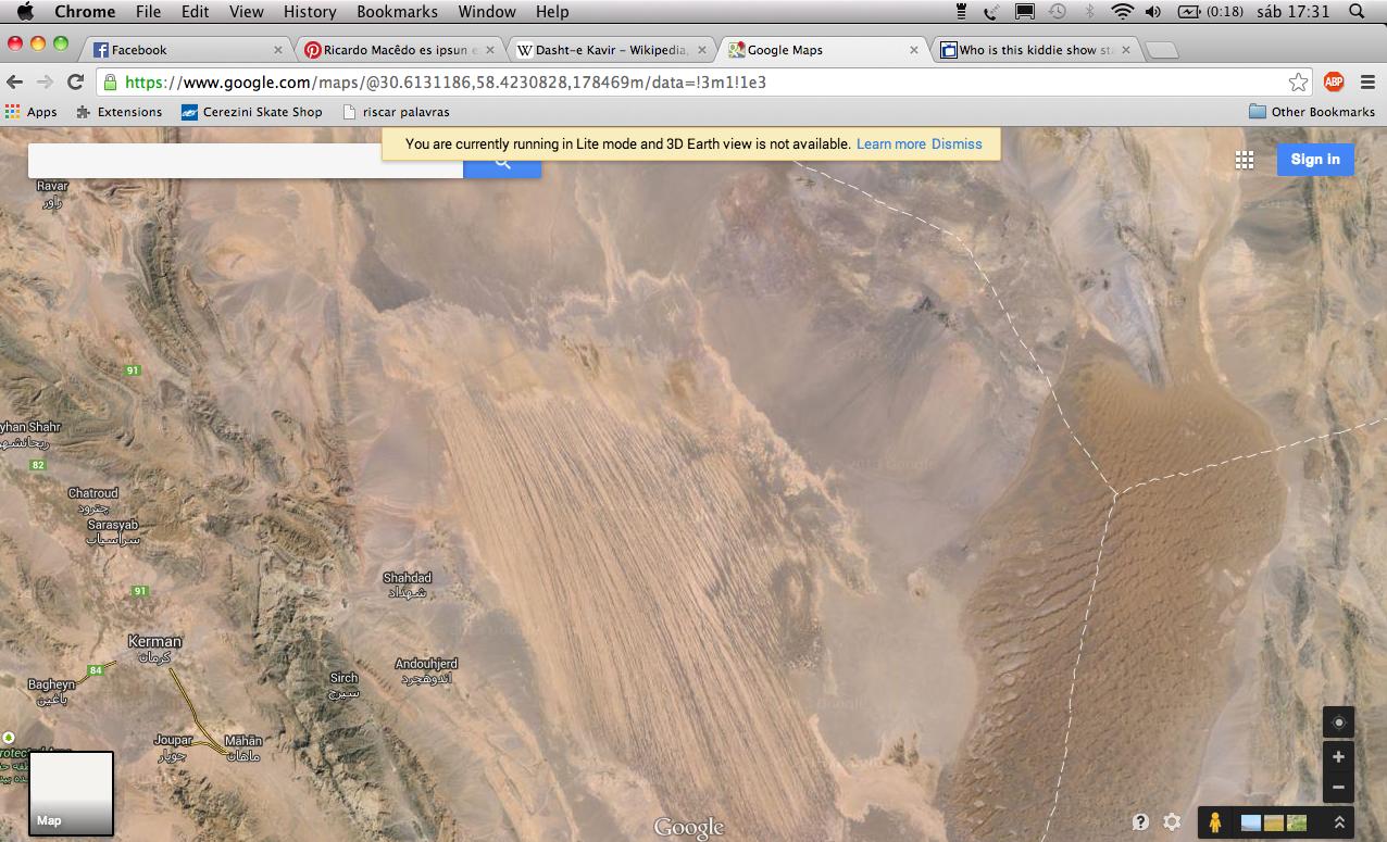 Google maps Google maps Deserto de