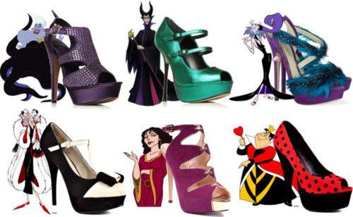 Disney Villains Heels (Females) <3
