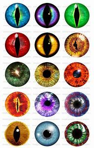 It is an image of Crush Free Printable Eyes for Crafts