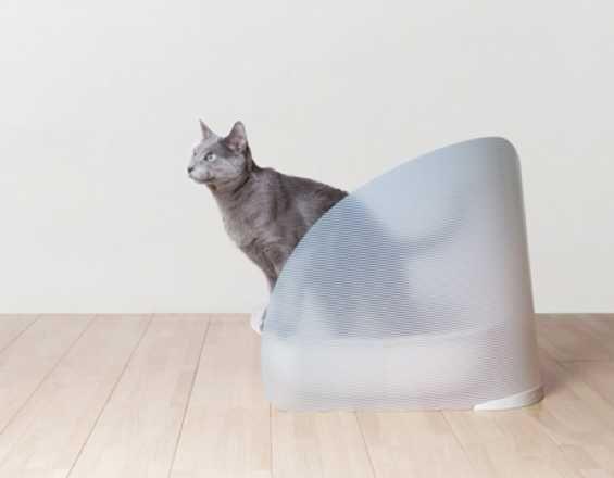 Oppo Toilet Screen For Cats Shields Against Kicked Kitty Litter