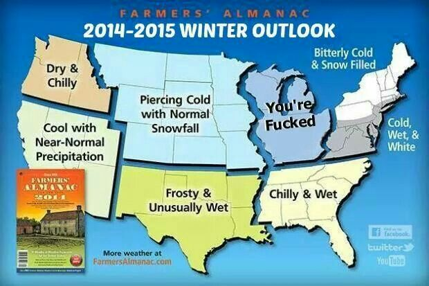 Farmers Almanac Winter 2019 2020 Wisconsin.This Doesn T Look Good For Us In Wisconsin I Saw Another