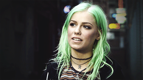 #jenna mcdougall,  #colored hair