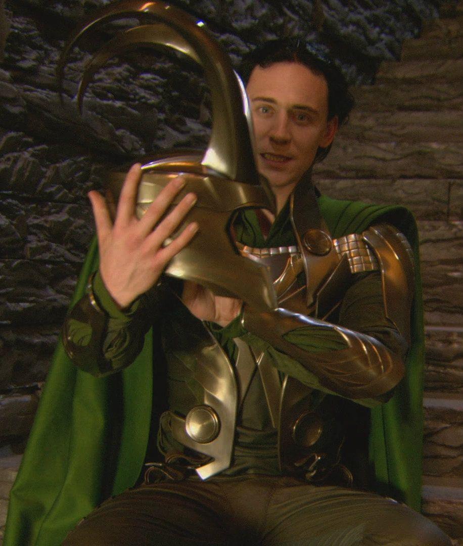 Behind The Scenes Loki images.