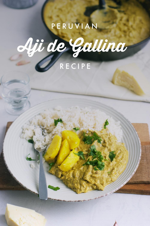Peruvian Aji de Gallina (Creamy Chicken Chili Stew | Yummy ...