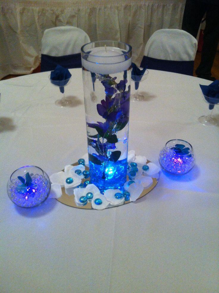 """Suministros de centro de mesa para eventos de bricolaje simples: 1 jarrón de cilindro de 10 """"pulgadas 2 ronda 2 …"""