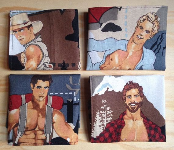 Beefcake pocket square sold individually by BklynBowtieFactory