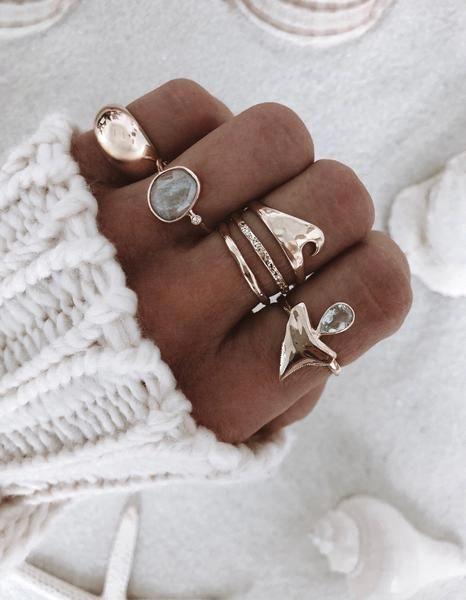 8x6mm Oval Cut Blue Aquamarine engagement ring set,Floral leaf diamond wedding band,full eternity,2pcs bridal ring set,14k rose gold,Halo - Fine Jewelry Ideas #aquamarineengagementring