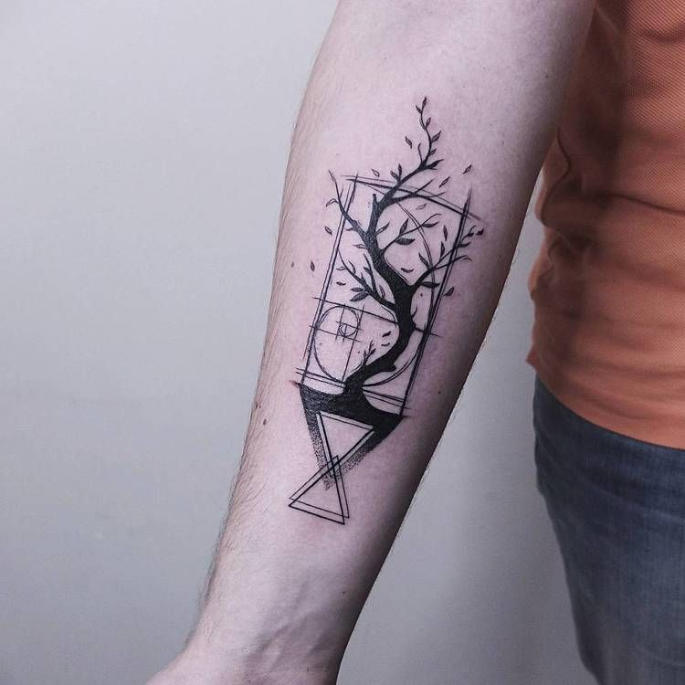 50 Beautiful Graphic Tattoo Designs By Vitaly Kazantsev Page 2 Of 5 Tattooadore Geometric Shape Tattoo Shape Tattoo Pattern Tattoo