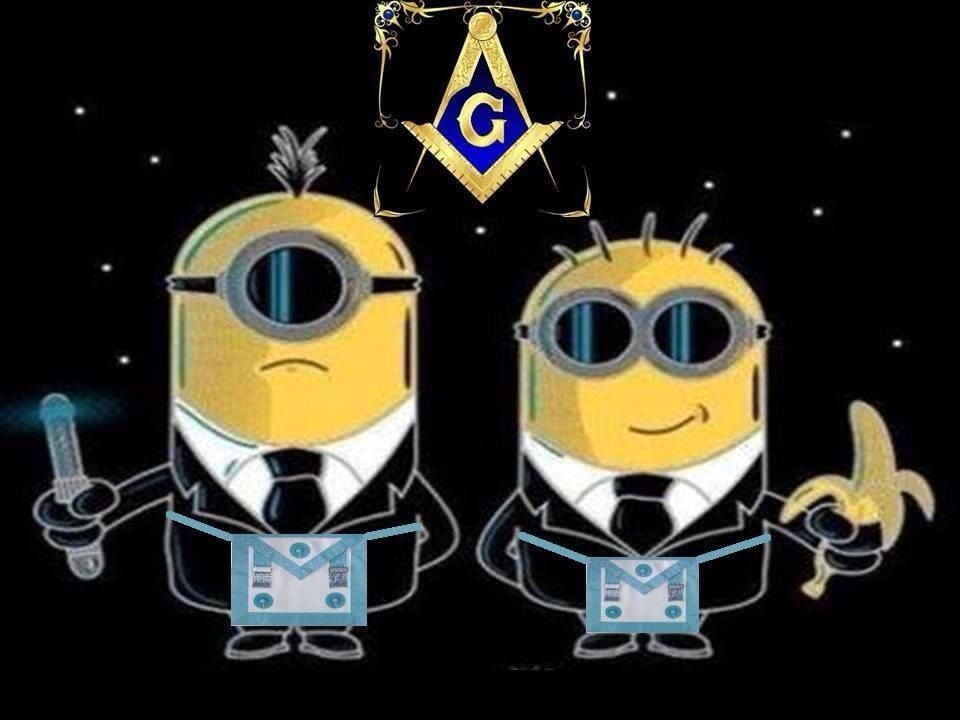 Masonic Minions Masonic Pinterest Freemasonry Freemason And