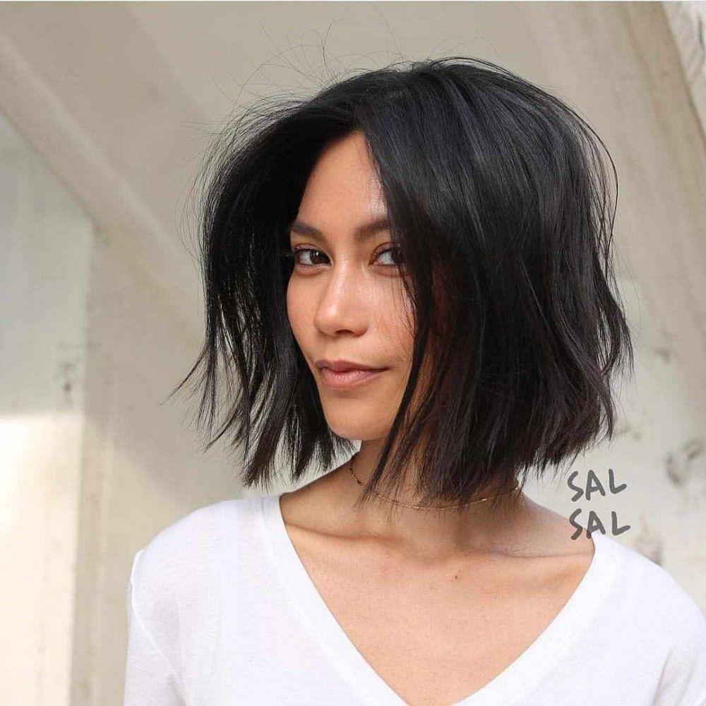 50 Beste Kurzhaarschnitte Und Farben Fur Frauen Frisurenmuster Frisur Dicke Haare Bob Haare Kurze Haare Bob