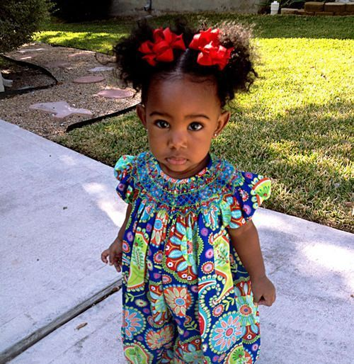 Peachy 1000 Images About Baby Hairstyles On Pinterest Black Girls Hairstyle Inspiration Daily Dogsangcom