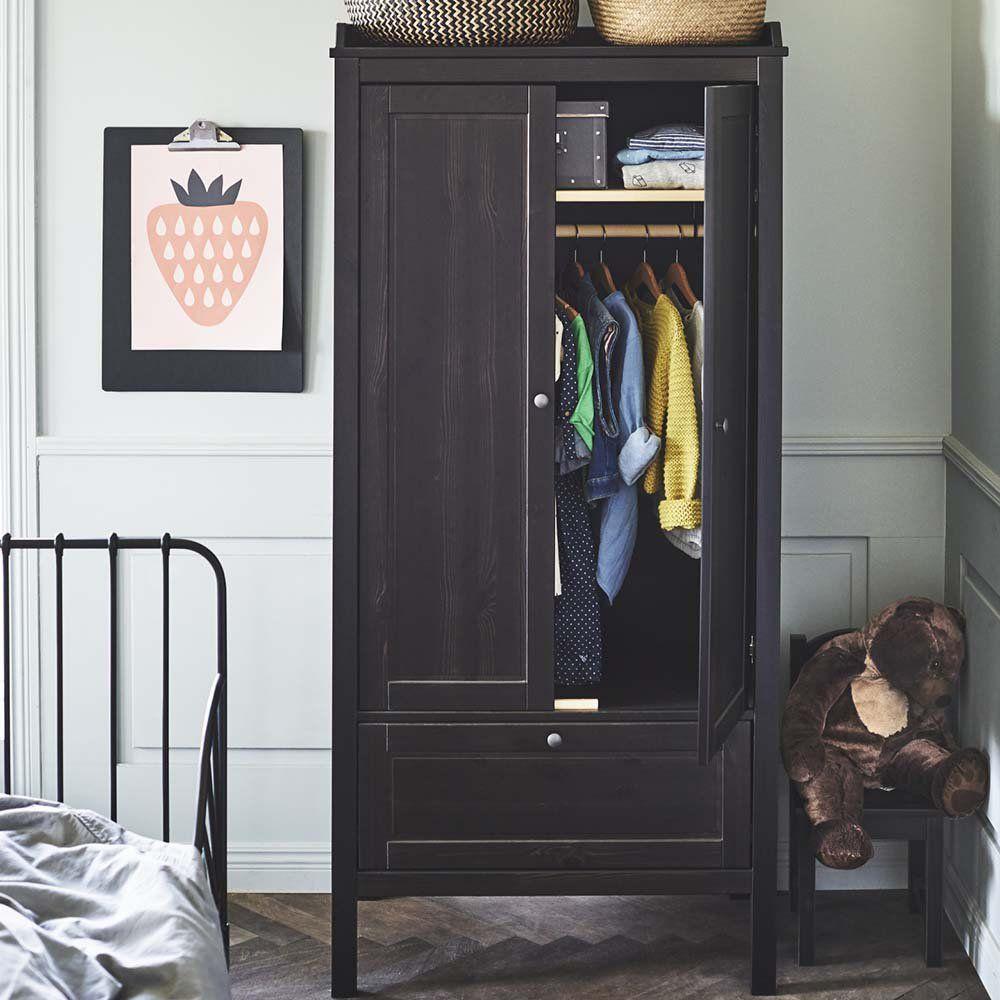 Amazing Meuble De Chambre Noir Ikea