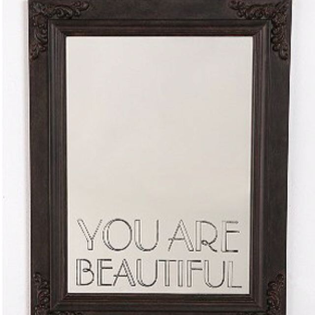 You Are Beautiful Mirror $99.00