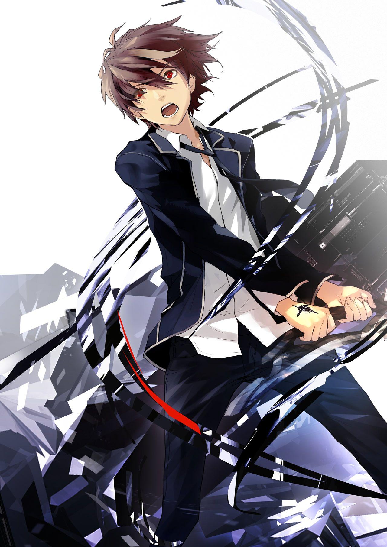 Guilty Crown Anime Black Logo men/'s woman/'s available t shirt black top