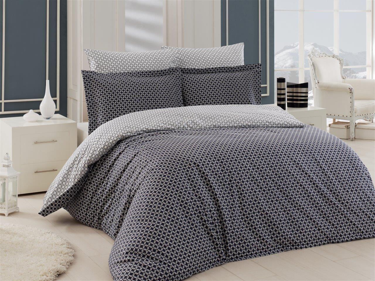 5tlg Bettwasche Bettgarnitur Baumwolle Eleonor Beige 200x200