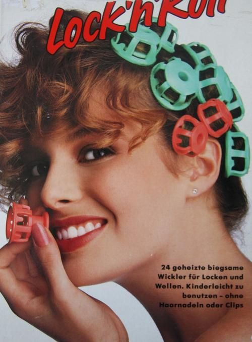 1980 S Vintage Clairol Lock N Roll Hot Roller Hair Curlers As Curly My Is Today I Can T Believe Used These Back In The Day