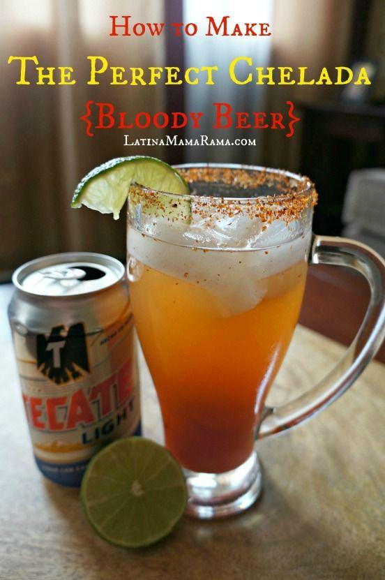 How to Make the Perfect Chelada {Bloody Beer} - Latina Mama Rama