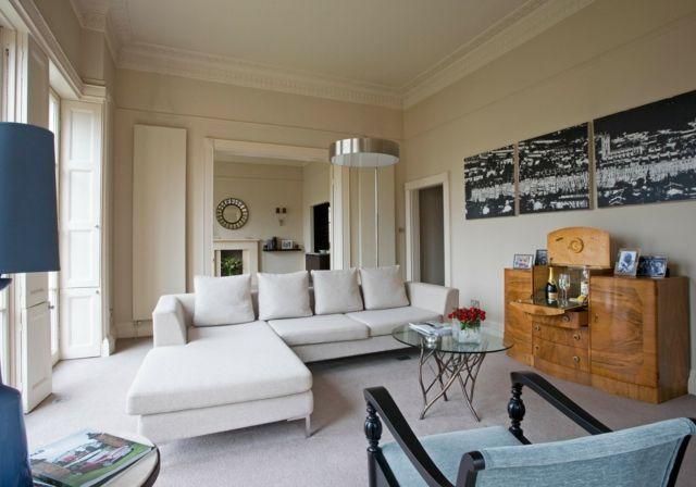 Wohnideen Fürs Wohnzimmer  Interieurs Im Englischen Stil #einrichten  #moderne #einrichtungsideen #dekoration