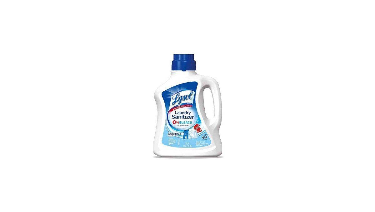 Lysol Laundry Sanitizer Additive Crisp Linen For 5 68 At Amazon