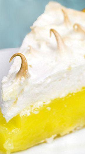Classic Lemon Meringue Pie #lemonmeringuepie